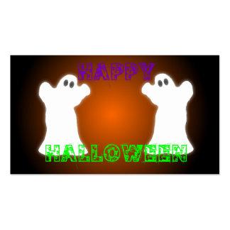 Fantasmas de Halloween Tarjetas De Visita