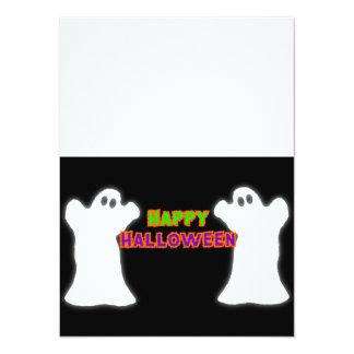 Fantasmas del feliz Halloween Invitaciones Personalizada