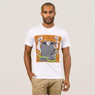 Fantasmas en una camiseta para hombre de la piedra