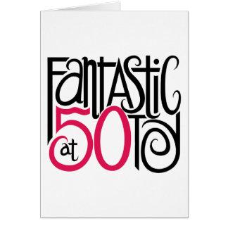 Fantástico en la tarjeta 50