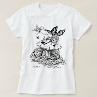 farie de la seta y camiseta del dragón el dormir