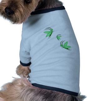 Faries verde camisa de perrito