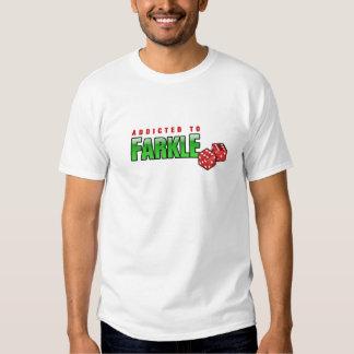 FARKLE - adicto Camisetas