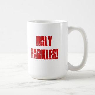 ¡Farkles santo! taza de café