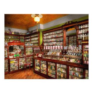 Farmacia - la farmacia de Sr. Jones 1907 Folleto 21,6 X 28 Cm