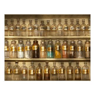 Farmacia - muebles de la tienda folleto 21,6 x 28 cm