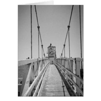 Faro B&W de Bonita del punto Tarjetón