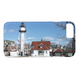 Faro de Coney Island, Nueva York Funda iPhone 7