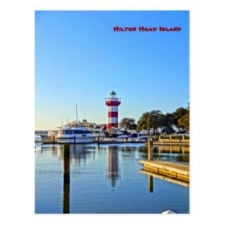 Faro de la ciudad del puerto - SC de Hilton Head Postal