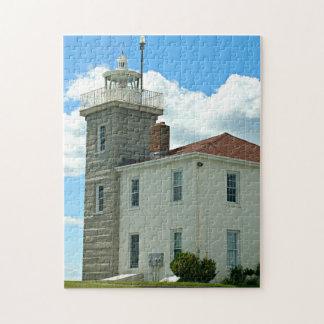 Faro de la colina del reloj, rompecabezas de Rhode