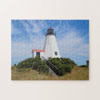 "Faro de Plymouth, ""el Gurnet"" Massachusetts Puzzle"