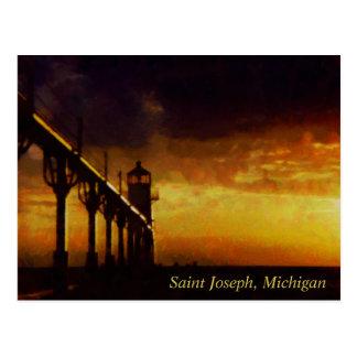Faro de San José Michigan Postal