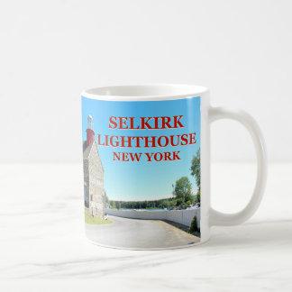 Faro de Selkirk, taza de Nueva York