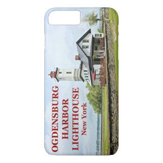 Faro del puerto de Ogdensburg, Nueva York Funda iPhone 7 Plus