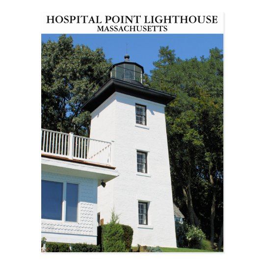 Faro del punto del hospital, Massachusetts Postal