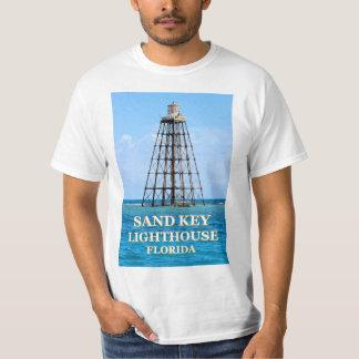 Faro dominante de la arena, camiseta de la Florida