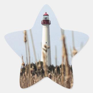 Faro Pegatina En Forma De Estrella
