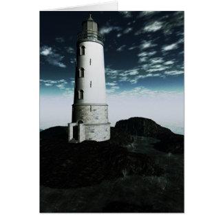 Faro - punto de Blackrock Tarjeta