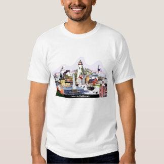 Faros del lago Erie Camisetas
