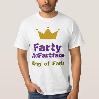 Farty McFartface - el rey de Farts Camiseta