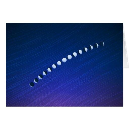 Fases de la luna felicitacion zazzle for Fases de la luna hoy