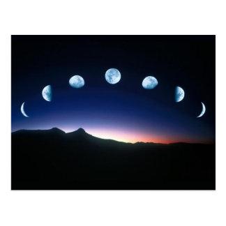 Fases de la luna postal