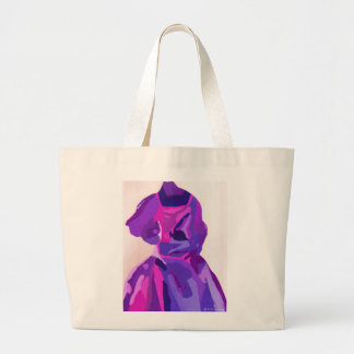 Fashionista de la diva en azul bolsas de mano