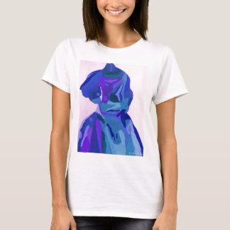 Fashionista de la diva en el azul I Camiseta
