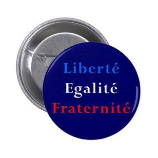 Favor de fiesta francés del tema - botón