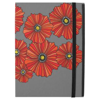 """Favorable 12,9"""" cubiertas de la amapola del iPad"""