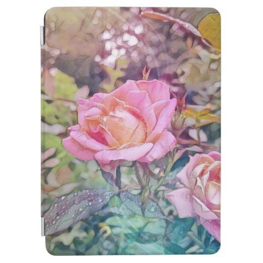 Favorable caso del iPad color de rosa mágico Cubierta Para iPad Pro