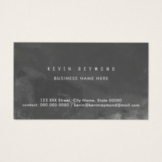 favorable tarjeta de visita gris oscuro