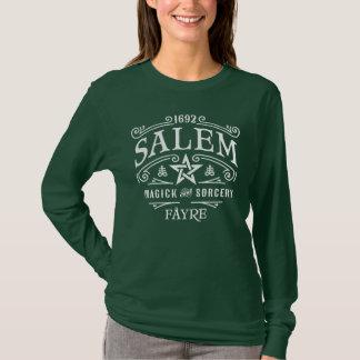 Fayre 1692 de las brujas de Salem Camiseta