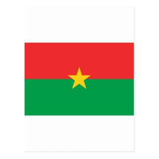 FB de la bandera de Burkina Faso Postal