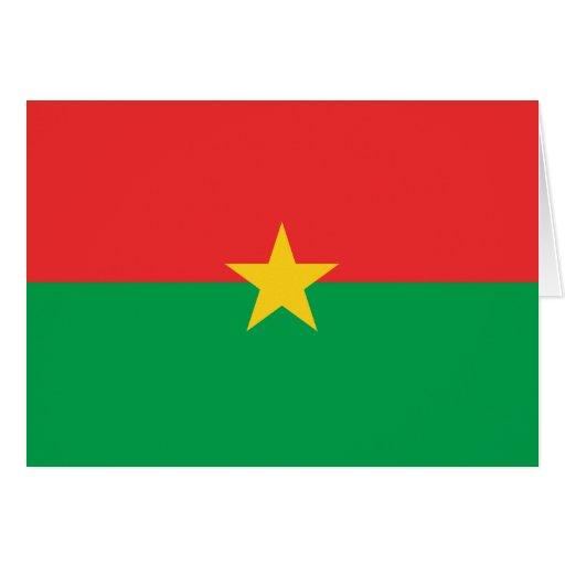 FB de la bandera de Burkina Faso Felicitación