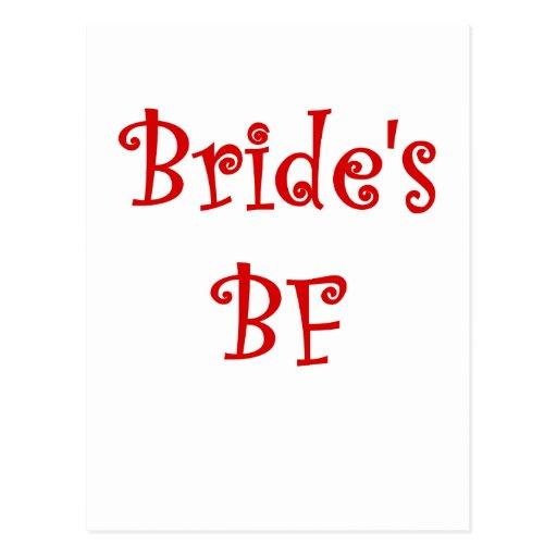 FB de las novias Tarjeta Postal