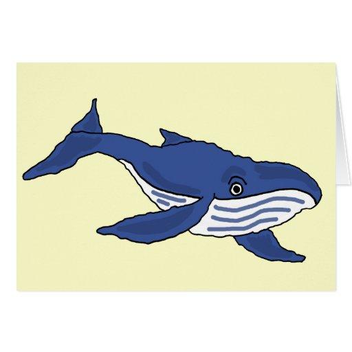 FB la ballena azul le agradece cardar Felicitación