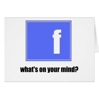 fb tarjeta de felicitación