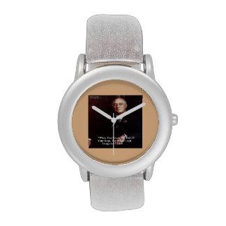 FDR y caída de la cita encendido a su cuerda Reloj De Mano