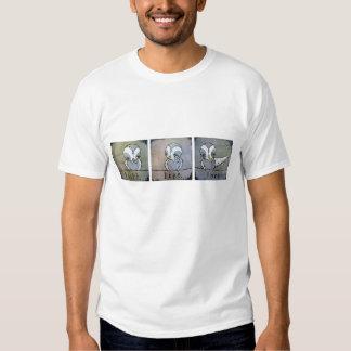 Fe, amor de la esperanza camisetas
