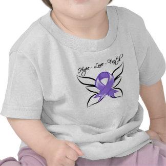 Fe del amor de la esperanza del linfoma de Hodgkin Camisetas