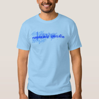 Fe, esperanza, amor - azul camisetas