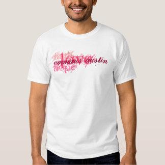 Fe, esperanza, amor - rosa - restauración de la camisas