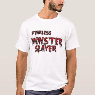 fearless monster slayer camiseta