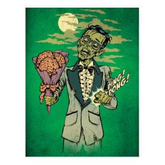 fecha del baile de fin de curso del zombi con los  postales