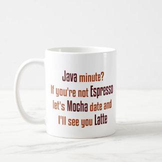 Fecha del café taza de café