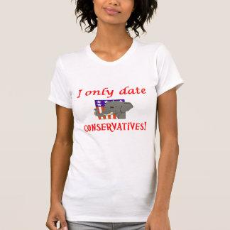 Fecho solamente a conservadores camisetas