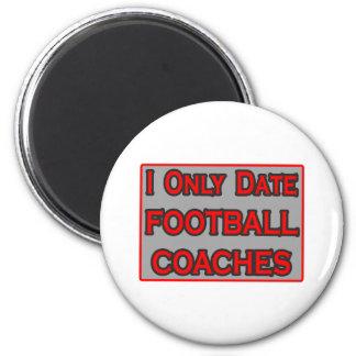 Fecho solamente a los entrenadores de fútbol imán
