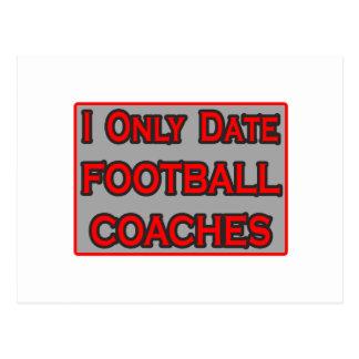 Fecho solamente a los entrenadores de fútbol postal