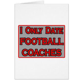 Fecho solamente a los entrenadores de fútbol felicitación